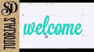 How To Weld Text In Cricut Design Space Welding Text In Cricut Design Space