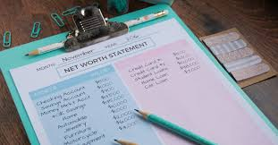 How To Calculate Your Net Worth The Budget Mom