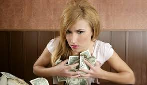 Image result for pictures of nigerian woman happily holding money