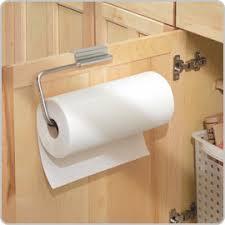 Kitchen towel holder Wooden Cabinet Storables Paper Towel Dish Towel Holders Storables