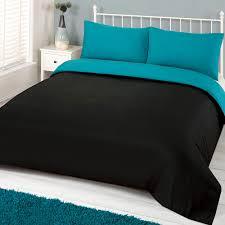 ords plain duvet cover amp pillowcase reversible bedding