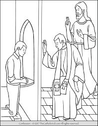 sacrament coloring pages. Simple Sacrament Sacrament Confession Coloring Page To Pages