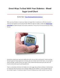 Child Blood Sugar Levels Chart Blood Sugar Level Chart