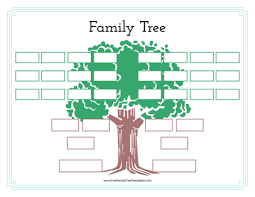 Family Tree Example Template Free Family Tree Templates For A Projects