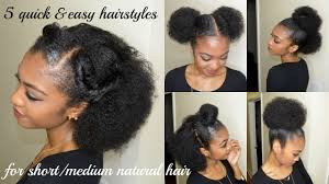 Easy Hairstyles For Short African Natural Hair Hairstyles