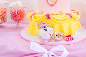Belle Birthday Decorations Kara's Party Ideas Princess Belle Beauty and the Beast Birthday 2