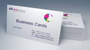 Buissness Cards 400gsm Matt Laminated Business Cards