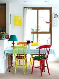 colorful dining room chairs colorful dining table colorful dining room chairs 2 natural table pertaining