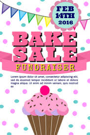 Bake Sale Flyer Templates Free Design Free Bake Sale Flyers Postermywall