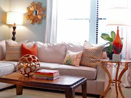 Orange Accessories Living Room Chic And Cozy Living Room With Vintage Trunk And Nautical
