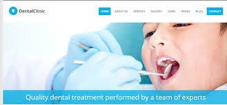 Dental Website Templates Free Download 26 Best Premium Medical