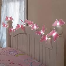 Butterflies Girls Bed Fairy String Led Lights Bedroom Decor