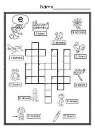 Find examples of american english words for each sound of the american english language. Cvc Simple Crossword Puzzles Crossword Puzzles Word Puzzles For Kids Crossword