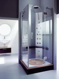 Compact Shower Stall Custom Glass Shower Doors Corner Shower Using Glass Sliding Shower