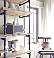 industrial diy furniture. DIY Industrial Pipe Shelves. Use Your Imagination To Come Up With Any Configuration. There Diy Furniture