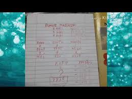 Index 0=5 1=6 2=7 3=8 4=9 mistik. New Rumus 6d Angka Main