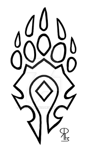 One response to bear tribal paw tattoo design. Tribal Bear Paw Tattoo Designs