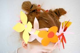 Paper Flower Headbands Wanna Make A Simple Spring Flower Crown Tinyu Games Fun And