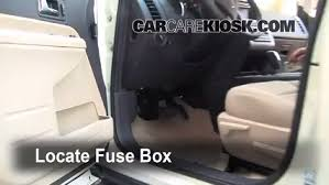 interior fuse box location 2007 2010 ford edge 2008 ford edge locate interior fuse box and remove cover