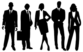 group of people clipart black and white.  People Professional People Silhouette For Group Of Clipart Black And White E