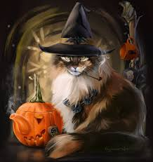 Cat Wallpaper For Halloween 3D - Best ...