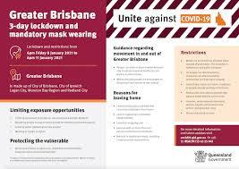 Lockdown lifting in brisbane and moreton bay from 6pm tonight, 3 july. Greater Brisbane 3 Day Lockdown Kurbingui Youth Family Development