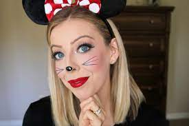 easy minnie mouse makeup