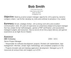Objectives Examples For Resume Resume Career Objective Examples Job