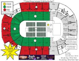 Family Arena St Charles Mo Seating Chart Jinglefest 2018