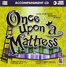 once upon a mattress broadway poster. Brilliant Upon Once Upon A Mattress KaraokeAccompaniment CD With Broadway Poster