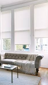 Roller Blinds   Like This But White Light Grey Roller Blinds In Library