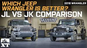 2018 Jeep Wrangler Jl Vs Jeep Wrangler Jk Official Comparison Review
