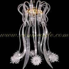 jellyfish murano glass chandelier jellyfish