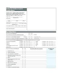 Medical Forms Templates Sample Family Medical History Forms 7 Free Documents In Word Form