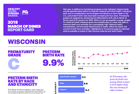 March Of Dimes Birth Plan Milwaukee Receives F For Preterm Birth Rates Wisconsin A C