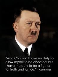 Hitler Christianity Quotes Best of Hitler Christian Quotes Quotes