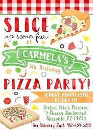Pizza Party Invitation Templates Pizza Party Invitations Invitation Cards