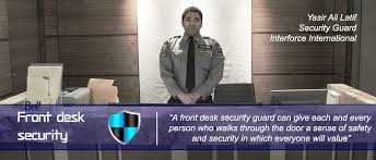 front desk security in gt area
