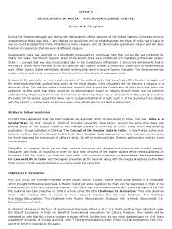 essay on secularism of secularism separation of church  essay on secularism of secularism separation of church and state in the united states