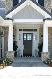 black glass front door. Front Door Ideas Inspirations Black With White Sidelights And Transom Glass O