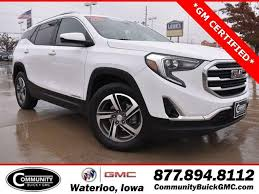 waterloo ia community buick gmc