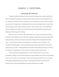 reflective essay about high school experience high school reflection essay example for studymoose com