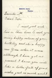 how to write a victorian birthday letter phyllis weliver the two birthday letters that i wish to explore today were written by mary gladstone when she was ten and eleven years old both were sent to her father