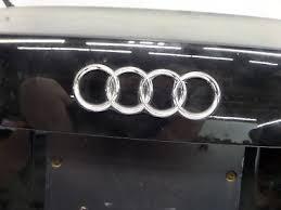 audi a4 2004 black. audi a4 sedan trunk lid hatch black b6 20042005 oem 2004