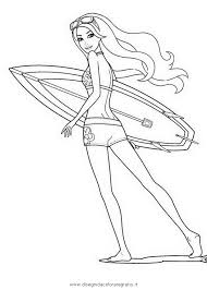 Disegni Barbie Sirena Az Colorare