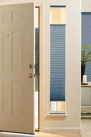 shades for front doorNeed Ideas Window Coverings for Your Doors