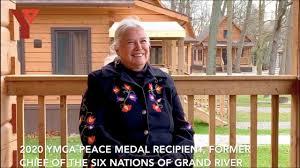 YMCA Peace Medal Recipient - Ava Hill - YouTube