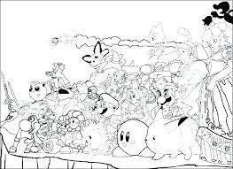 Super Mario Bros Coloring Pages Printables Free Brothers Coloring