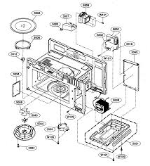 kenmore model 72180609500 microwave hood combo genuine parts Sears Kitchen Appliances Microwave at Sears Microwave Diagram