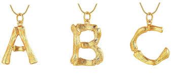 cÉline alphabet necklace dupes on
